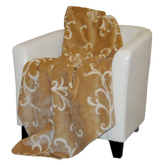 60x70 $ 129 Denali Cashew Swirl Throw Blanket