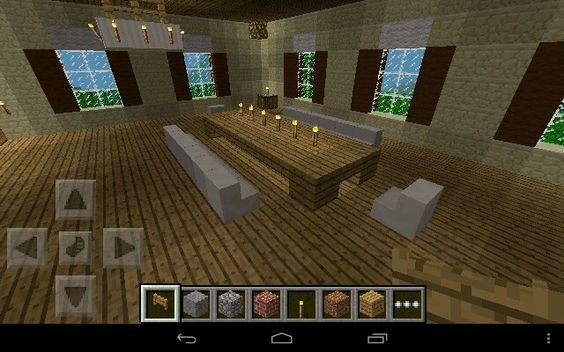 Pinterest the world s catalog of ideas for Minecraft dining room designs