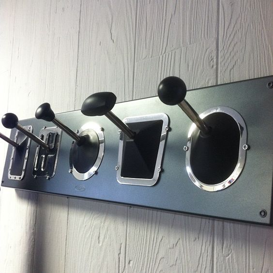 Decorating idea for car lovers stick shift cost rack i for Gear shift coat rack