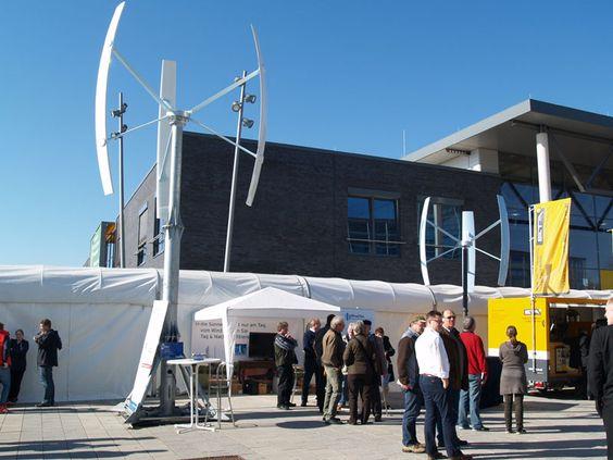 New Energy - HUSUM, Alemania 2014 - Expo de fabricantes Chinos - MINI-EOLICA