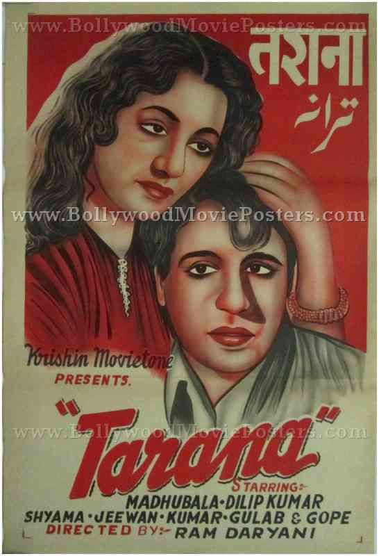 Tarana Buy Vintage Bollywood Movie Posters For Sale Online Movie Posters For Sale Movie Posters Bollywood Posters