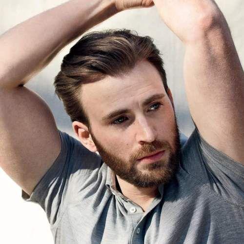 Evans hairstyle chris How to