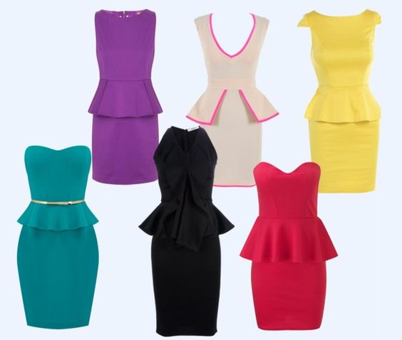 #Moda #Peplum dress - http://www.amando.it/moda/abbigliamento/peplum-dress-tendenze-moda.html