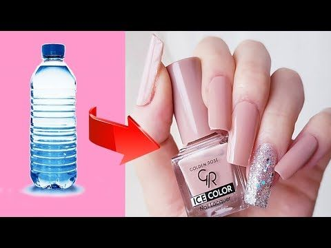 Make Fake Nails From Plastic Bottle Cheap And Easy Youtube In 2020 Fake Nails Fake Nails Diy Diy Acrylic Nails