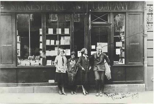 Image result for shakespeare and company paris 1920s