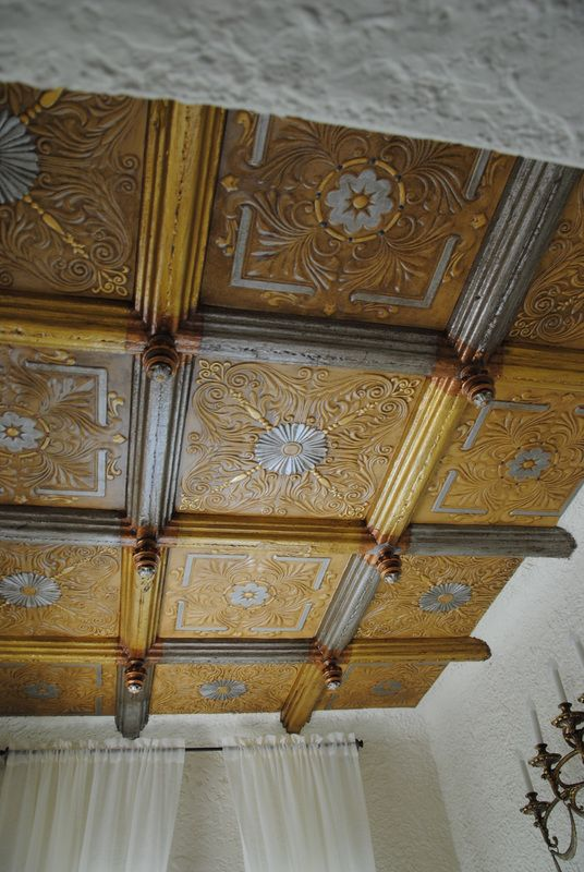 Ceilings Spanish And Silver On Pinterest