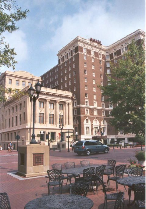 Visiting The Wonderful Town Of Greenville Sc The Poinsett Hotel Is A Popular And Historic Location T Historic Greenville Beautiful Places Best Places To Live