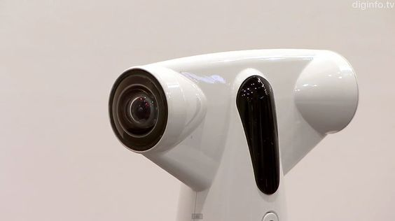 Omnidirectional Camera Takes 360° Photos & Sends Them To Your Phone