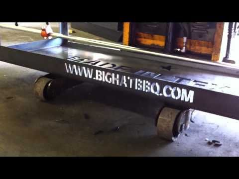 Big Hat BBQ - cool videos of production! Such high quality, hand made