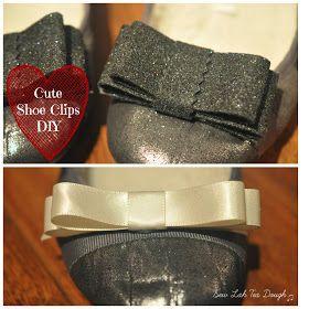 Sew Lah Tea Dough: DIY Shoe Clips