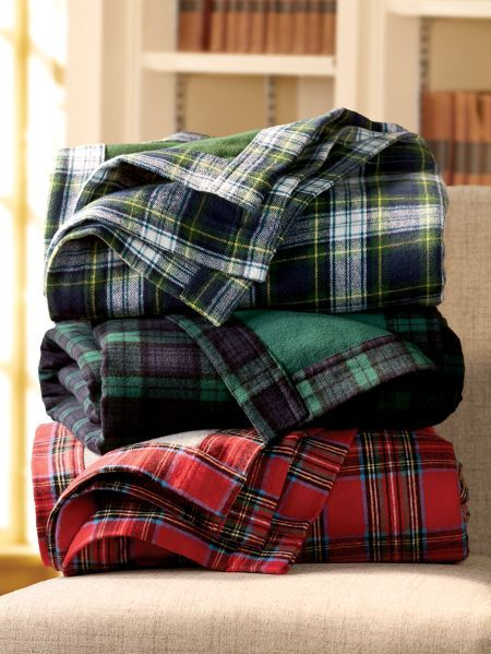 Portuguese Plaid Double Flannel Blanket In 2020 Flannel Blanket Christmas Flannel Blanket Plaid