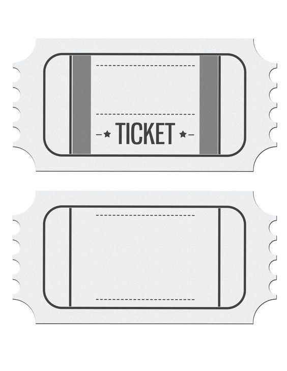movie ticket birthday invitation 1 275 1 650 pixels sports party pinterest. Black Bedroom Furniture Sets. Home Design Ideas
