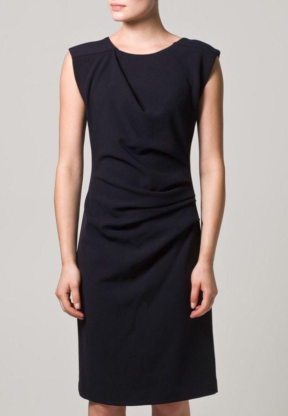 DOLLEMINA - Zakelijke jurken - Blauw