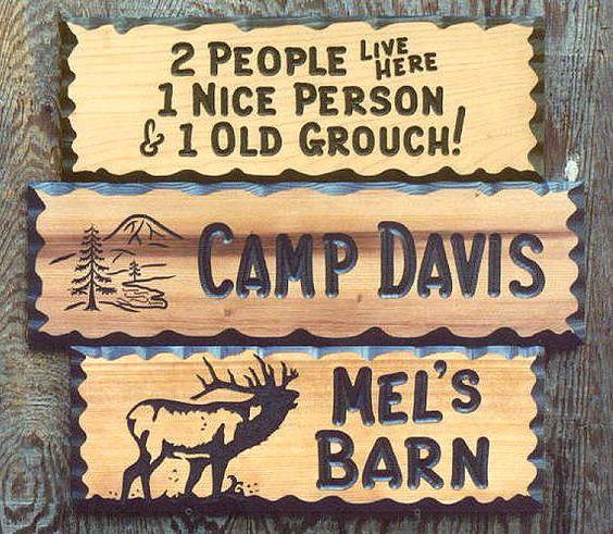 Wooden Signs Custom Wood Signs And Signs On Pinterest