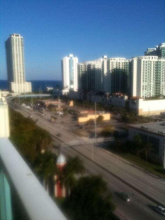 Balcony view from our Florida place!