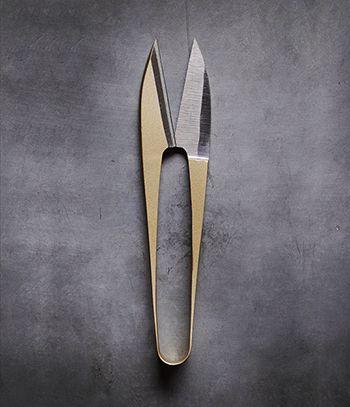 BANSHU HAMONO Nigiri Basami Gold -  a thing of beauty