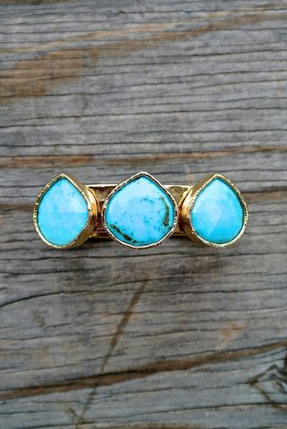 THEO CUFF #liliclaspe #jewelry #Fashion #turquoise