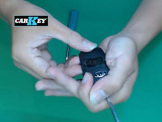 Hướng dẫn thay vỏ chìa khóa ô tô KIA Morning