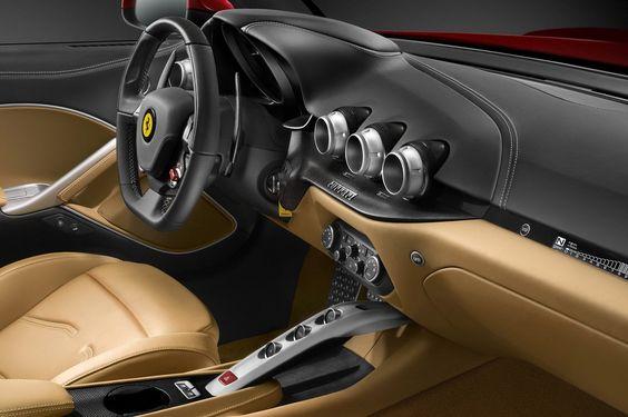 Ferrari F12 Berlinetta Interior  www.fhdailey.com