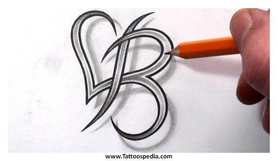 Letter B Tattoos Designs 5