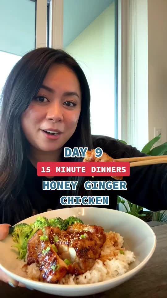 Tiffy Cooks Tiffycooks On Tiktok Day 9 15 Honey Ginger Chicken Tiktokfood Dinnerideas Chicken Chinesef Resep Masakan Asia Resep Makanan Resep Masakan