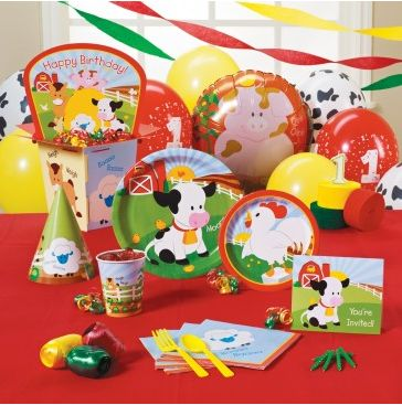 1st Birthday Party Supplies Boy Image Inspiration of Cake and