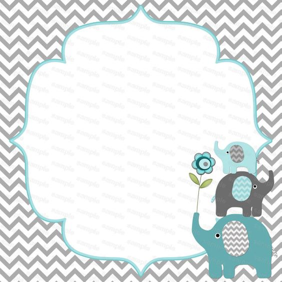 Nice Blank For Boy Baby Shower Elephant Baby Shower By Diymyparty, $4.00 |  Mandyu0027s Baby Shower Ideas | Pinterest | Elephant Baby Showers, Elephant Baby  And Boy ...