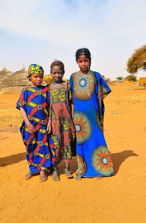 "Africa | ""Girls of the Sahel"" | ©Patehoun"