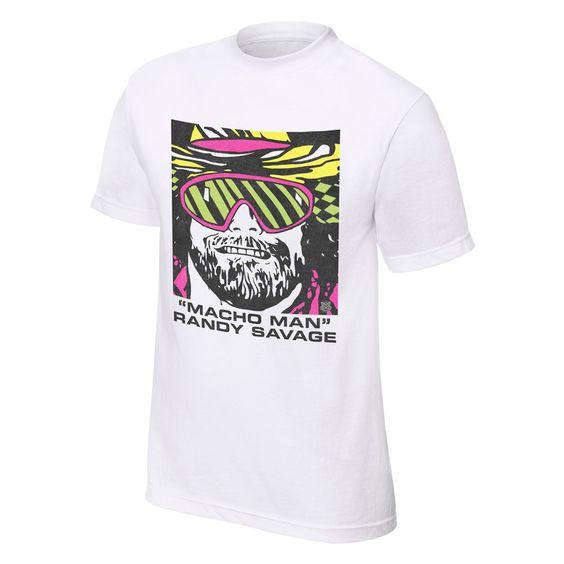 """Macho Man"" Randy Savage ""Portrait"" OTR T-Shirt - WWE"