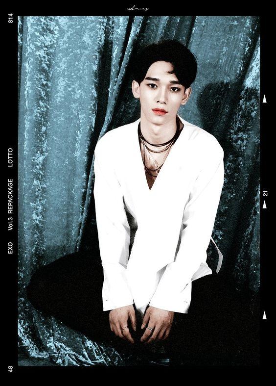 """Chen álbum repackage """"LOTTO"""" ~ Color"""