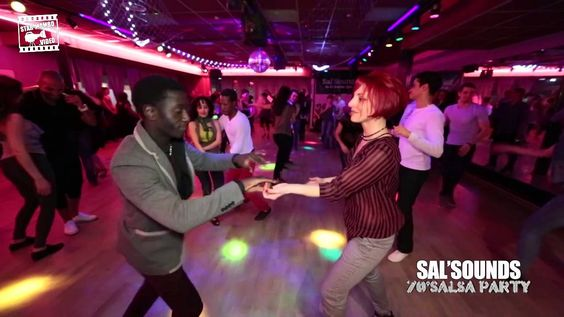Mouaze Konaté & Fanny Frosini - social dancing @ Sal'Sounds 70's