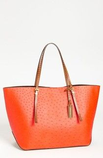 Michael Kors 'Gia' Ostrich Embossed Leather Tote, Extra Large 40 % off