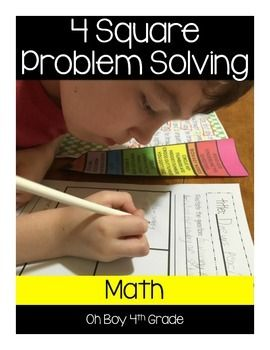 Problem solving methods in the classroom