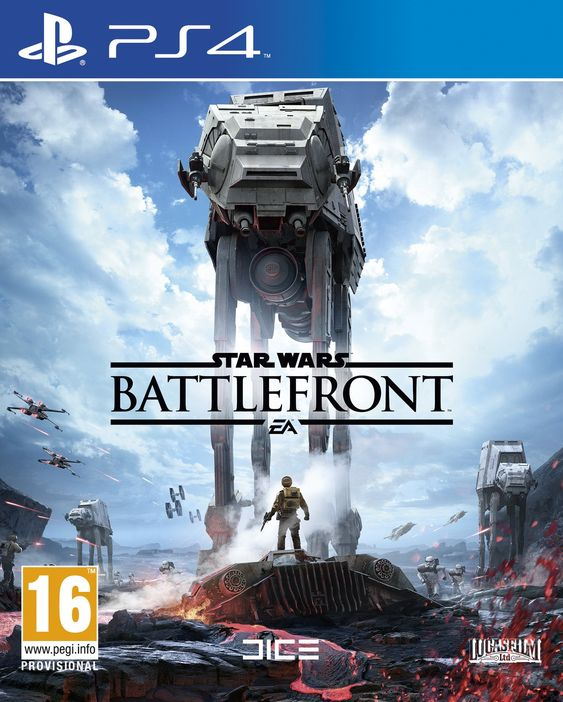Star Wars: Battlefront (PS4) Star Wars: Battlefront (PS4) with Battle of Jakku DLC Early Access  by Electronic Arts Platform : PlayStation 4   Rated: Unknown  Price:£41.99 & FREE Delivery in the UK. Details Pre-order Price Guarantee. Learn more. This item will be released on November 19, 2015.  Pre-order now. Dispatched from and sold by Amazon. Gift-wrap available. Want to receive this the day it comes out? Select Standard Delivery at checkout for FREE Release Day Delivery. Details…
