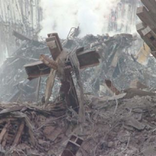 God in NYC at Ground Zero on 9/11/01