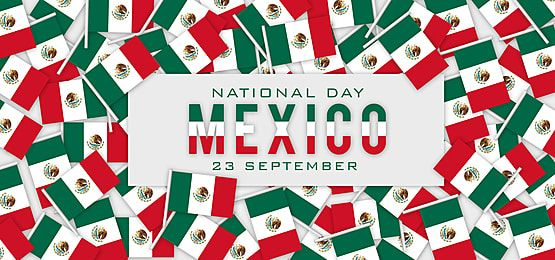 Mexico Independence Day With Abstract Flag Background Flag Background Independence Day Flag Framed Flag