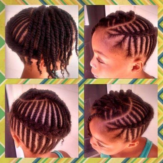 Astonishing Little Girl Hairstyles Girl Hairstyles And Little Girls On Pinterest Short Hairstyles For Black Women Fulllsitofus