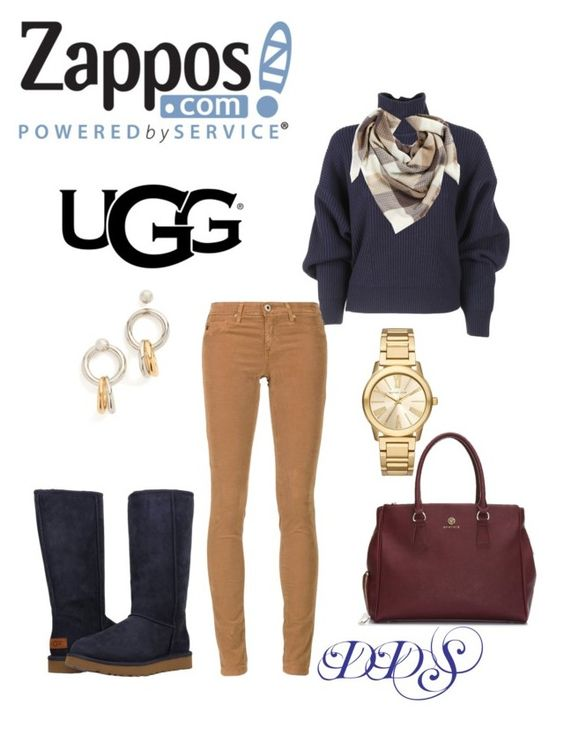 """The Icon Perfected: UGG Classic II Contest Entry"" by donna-duggan-sargeant ❤ liked on Polyvore featuring UGG Australia, Balenciaga, BP., Michael Kors, Alexander Wang, AG Adriano Goldschmied, ugg and contestentry"