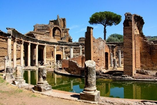 Italie, Rome, Tivoli, Villa Adriana ~ fait 09.2011 ♥