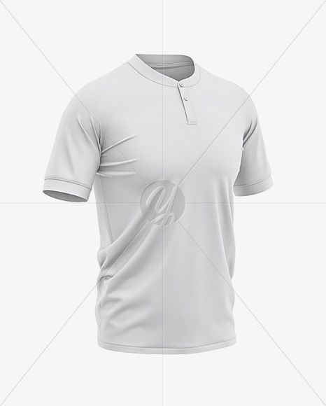 Download Men S Soccer Henley Collar Jersey Mockup Front Half Side View In Apparel Mockups On Yellow Images Object Mockups In 2020 Clothing Mockup Design Mockup Free Shirt Mockup PSD Mockup Templates