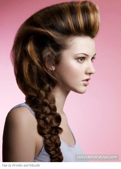 big braid-big hair
