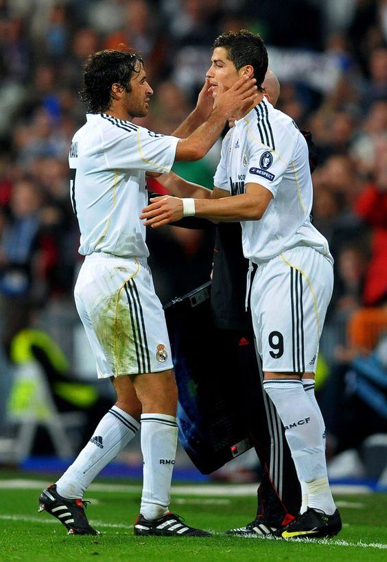 Raúl González & Cristiano Ronaldo.