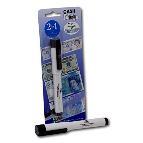 Counterfeit Currency Fake Money Checker Detector Ink Marker Pen Tester 1 PC