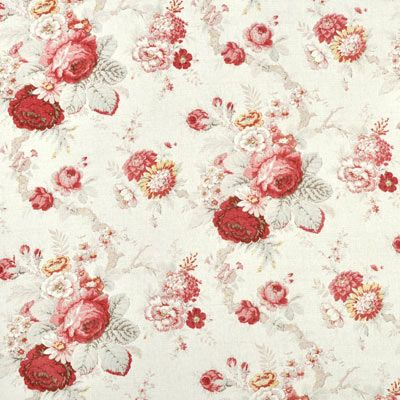 Waverly Norfolk Rose Fabric: