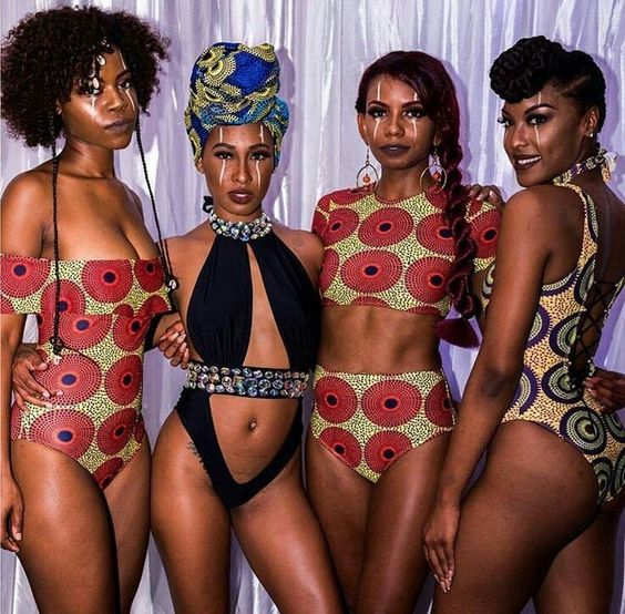 "Photo: Pinterest ""Swimwear Divas"" ""Ankara Fashion"""
