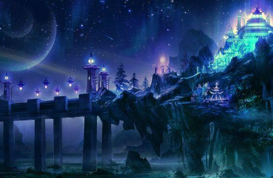 Background castle anime google search rp world - Google anime wallpaper ...