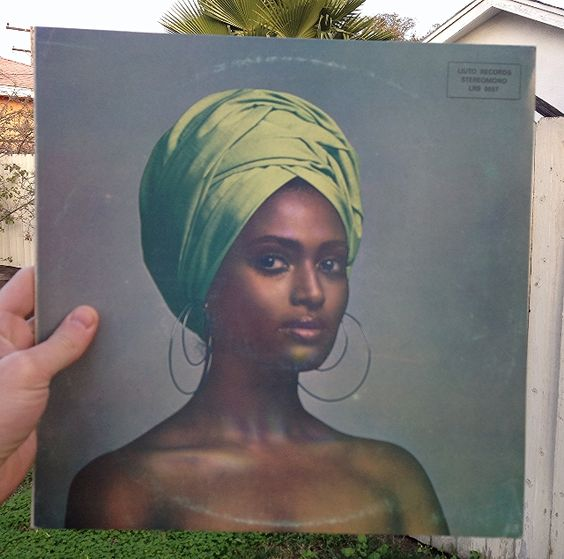 Miss Eritrea 1969, Zeudi Araya, on the cover of this killer funk soundtrack from the Italian movie La Ragazza Fuoristrada.