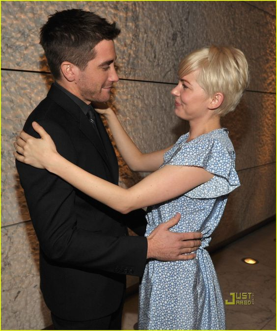 Wet Dark and Wild: Jake Gyllenhaal supports Michelle Williams as her film My Week with Marilyn premieres in NYC