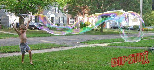 BESTSELLER! Dip Stix Giant Bubble Grab & Go Kit $15.99