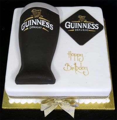 Guinness Cake Decorations